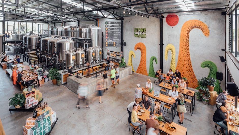 Stone and Wood Brewery at Byron Bay