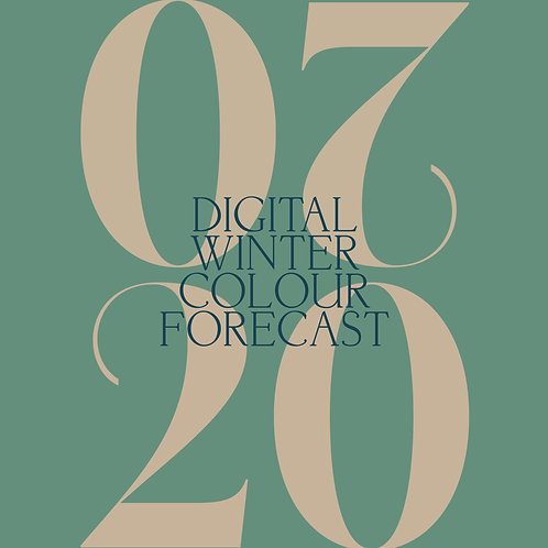 Digital Winter Colour Forecast