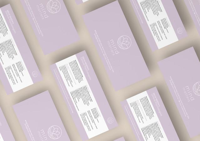 MindMatters - Free Modern Grid DL Flyer