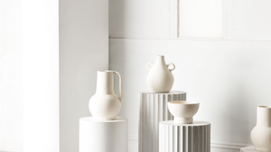 A GRECIAN TOUCH: L&M HOME OLYMPIAN VESSEL COLLECTION