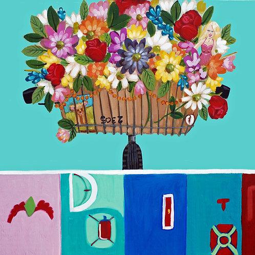 FLOWER MAN - Giclée Print