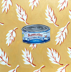 COVID QUILT BLOCK: CANNED TUNA (9/24)