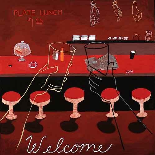 Welcome/Lunch Counter - Giclée Print