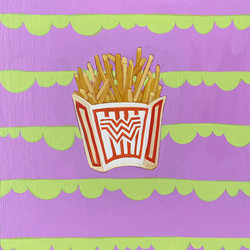 COVID QUILT BLOCK: FRENCH FRIES (17/24)