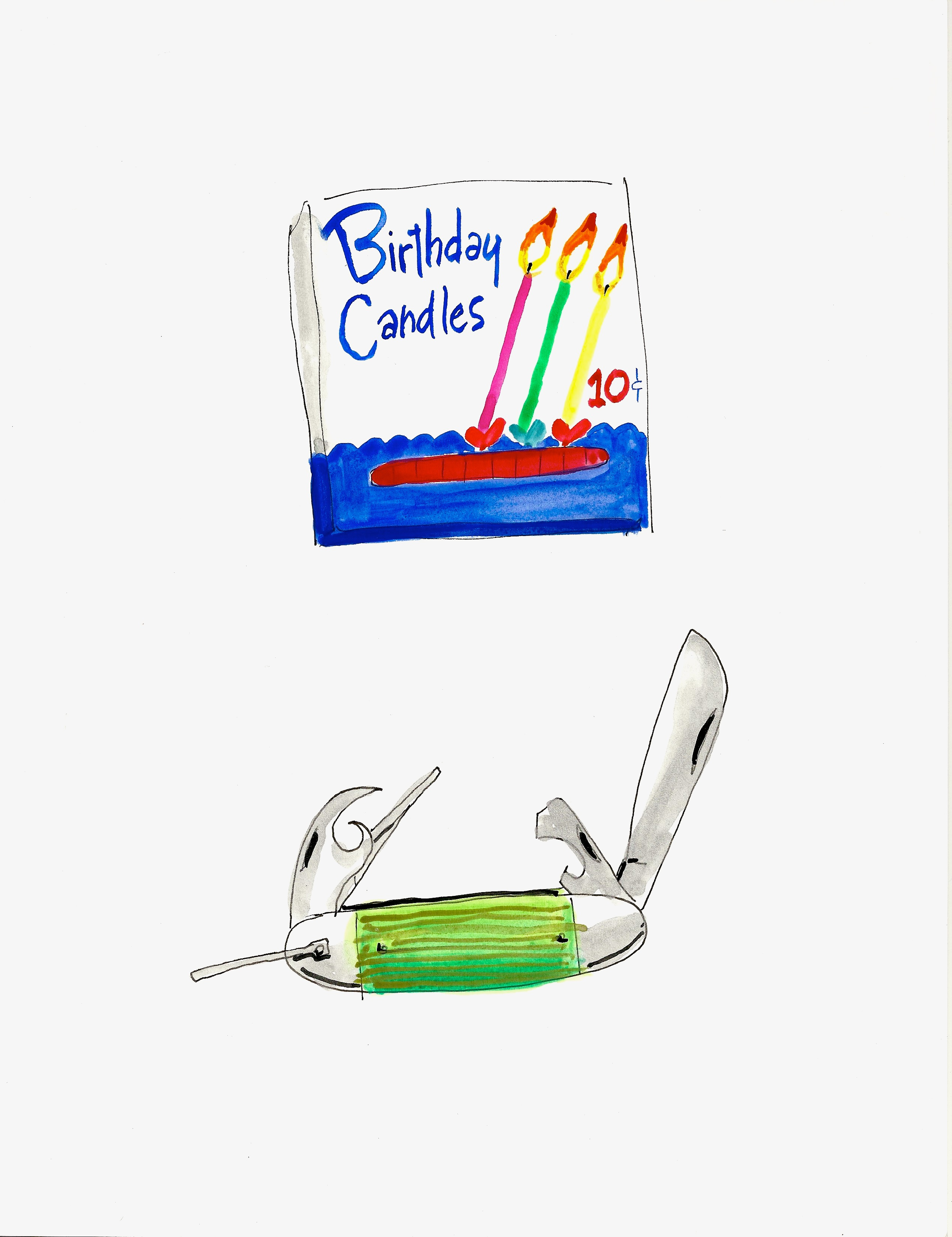 CONSTANCE (Birthday Candles)