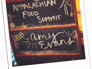 2015 APPALACHIAN FOOD SUMMIT ARTIST IN RESIDENCE