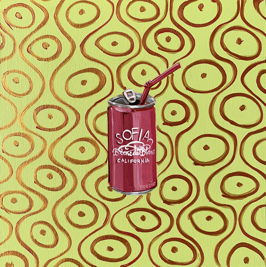 COVID QUILT BLOCK: WINE IN A CAN (20/24)