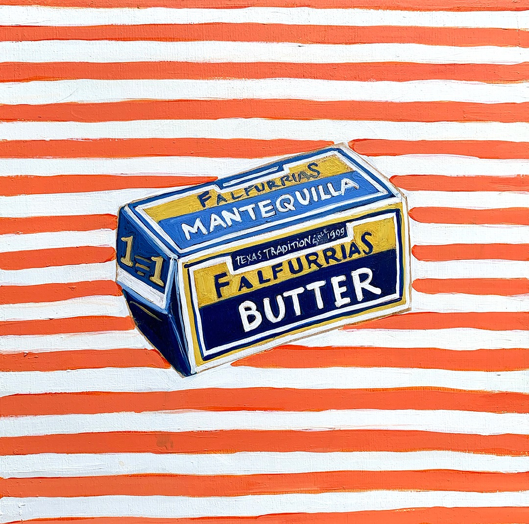 COVID QUILT BLOCK: BUTTER (3/24)