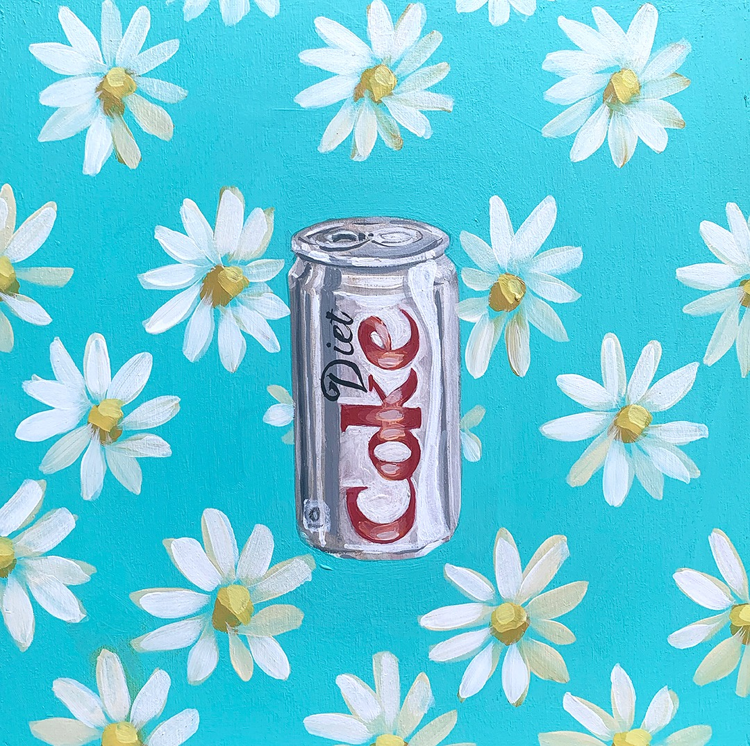COVID QUILT BLOCK: DIET COKE (7/24)