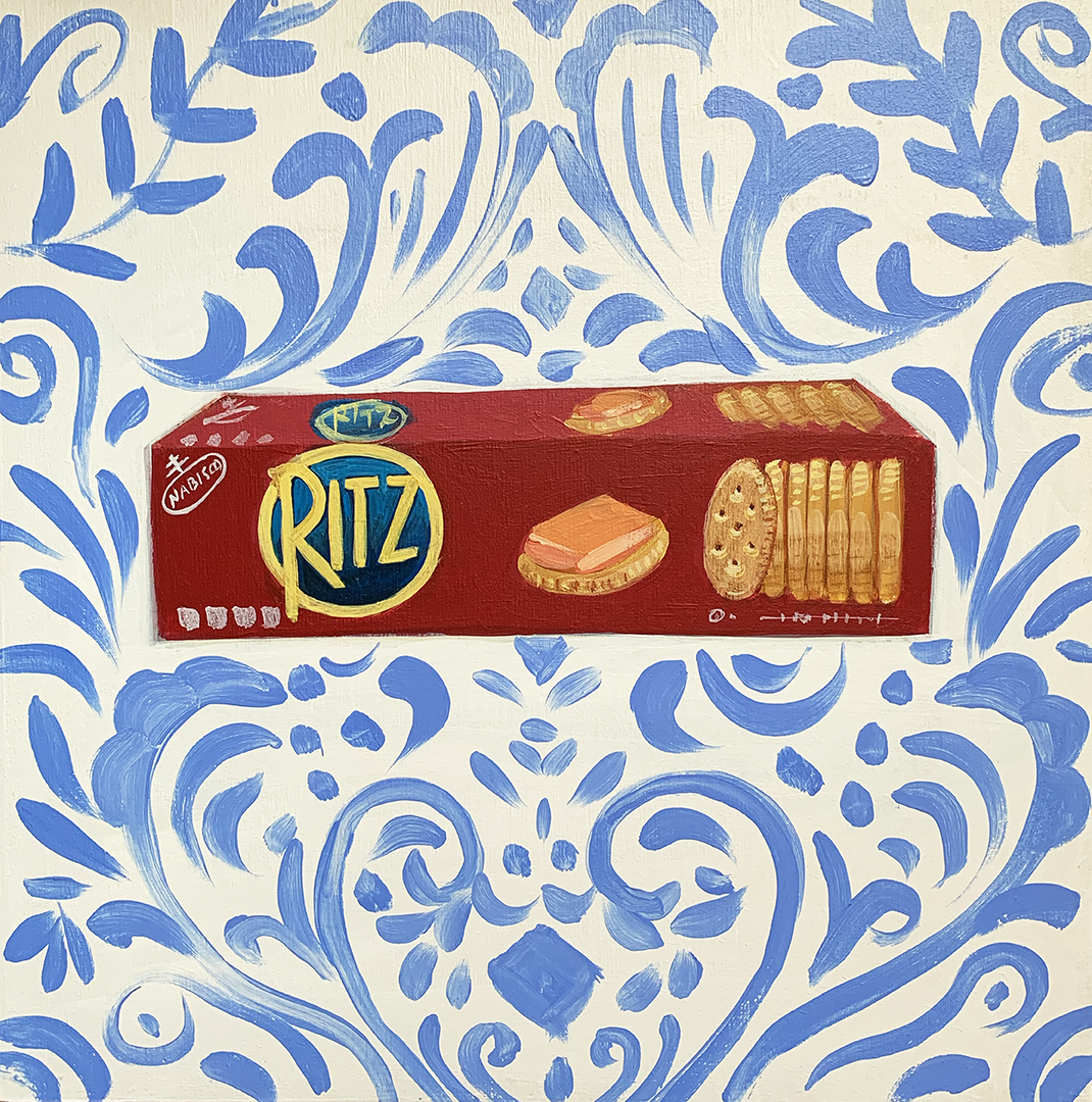 COVID QUILT BLOCK: RITZ CRACKERS (2/24)