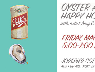 OYSTER ART OPENING IN FLORIDA ON MAY 27
