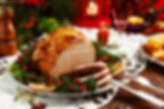 Honey Glazed Ham from Helga's Catering Holiday Dinner Menu