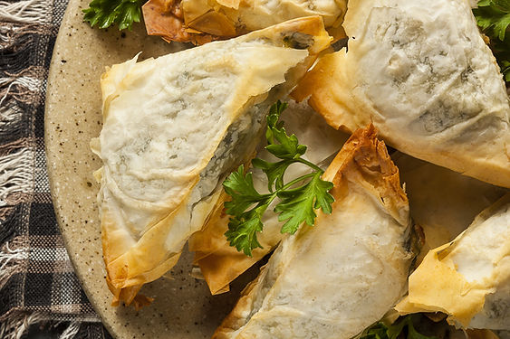 Spanakopita from Helga's Catering - Wedding Planners in Vienna, VA