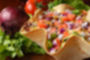 Taco Salad from Helga's Caterig Cold Buffet Corporate Catering Menu