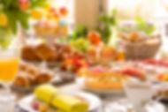 Hot Breakfast Buffet from Helga's Catering Corporate Catering Menu