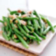 Green Beans Almondine from Helga's Catering Bar and Bat Mitzvah Menu III