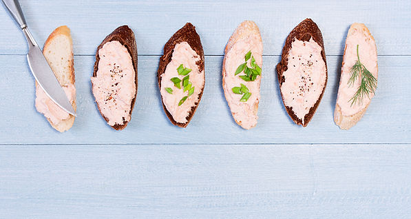 Fresh Salmon Mousse from Helga's Catering Simply Elegant Holiday Menu