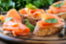 Canapes from Helga's Caterers - Caterers for Large Gatherings in Vienna, VA
