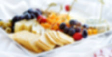 Fruit and Cheese from Helga's Catering Honeymoon Soirée Menu
