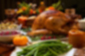 Rosted Turkey with all the trimmings from Helga's Catering Thanksgiving Banquet Menu