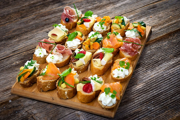 Crostinis  from Helga's Caterers - Party-Planning Services Vienna, VA