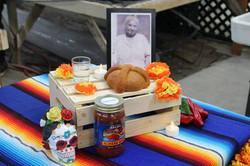 Dia de los muertos/honoring Mama Rosa