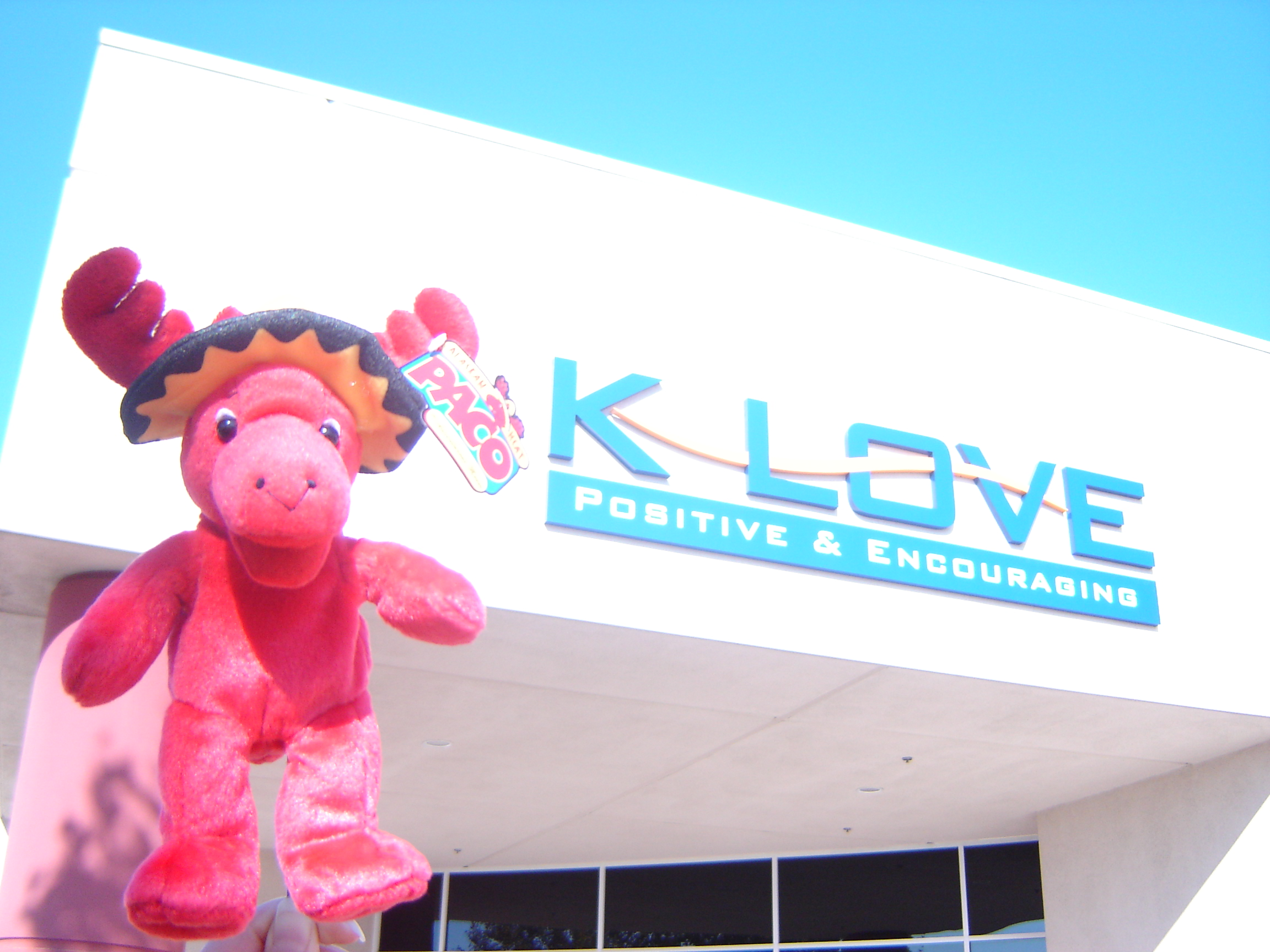 Paco Mexi-moose visits KLOVE