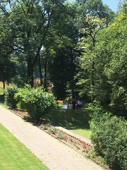 Hochzeit im Park