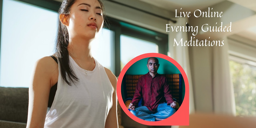 Online live Guided Kundalini Meditations every Evening