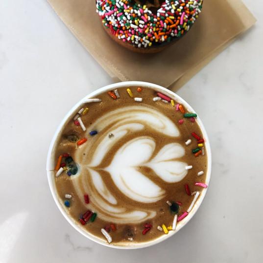 Donut Milk Latte