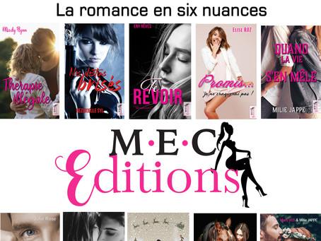 Catalogue Interactif des auteures M.E.C Editions