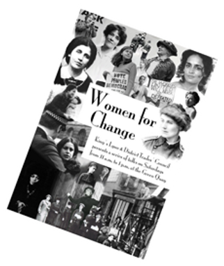 Women for Change talks organised by Jacqueline Mulhallen