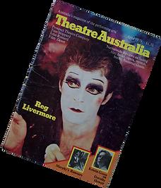 Theatre Australia, April 1979 cover