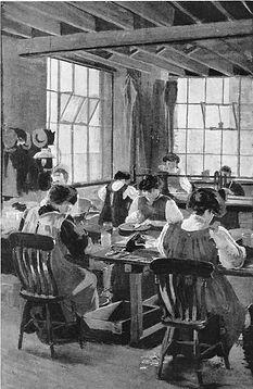 Painting by Sylvia Pankhurst