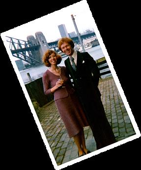 Jacqueline Mulhallen and David Mulhallen in Australia