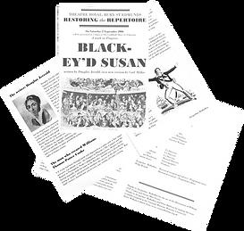 Jacqueline Mulhallen's programme notes for Black-ey'd Susan by Douglas Jerrold