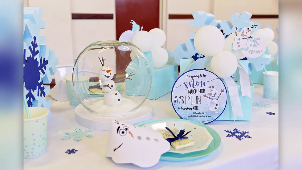 Snow Much Fun - Frozen Birthday Party