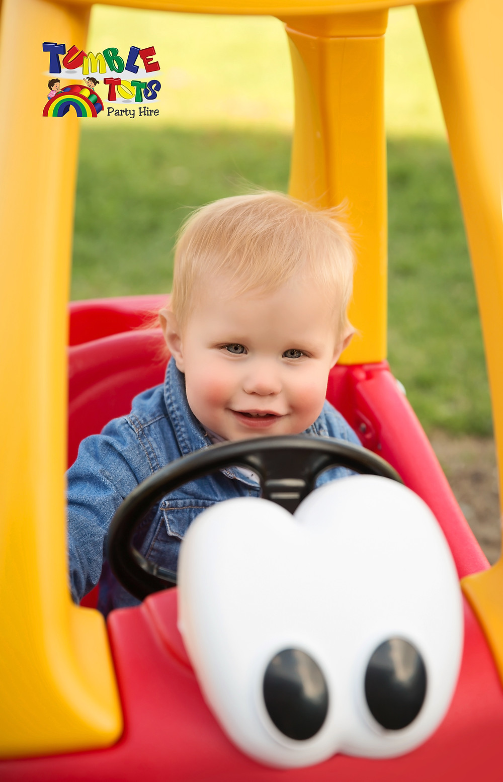 Little Tikes Cozy Red Coupe - Tumble Tots Party Hire