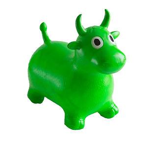 Bouncy Green Cow.jpg