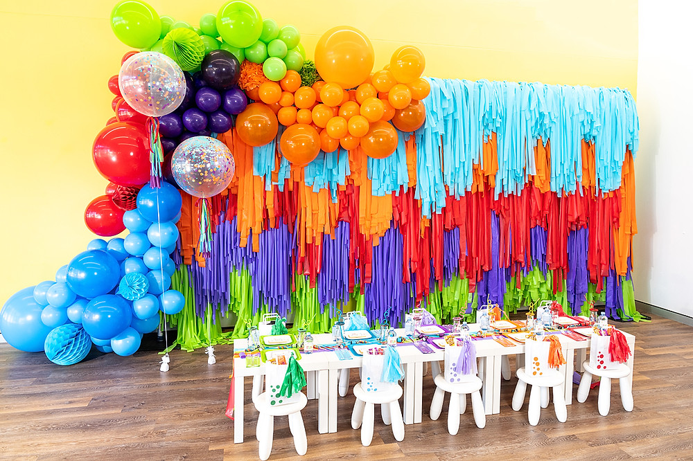 Kids Party Hire Perth | Colourful Children's Party