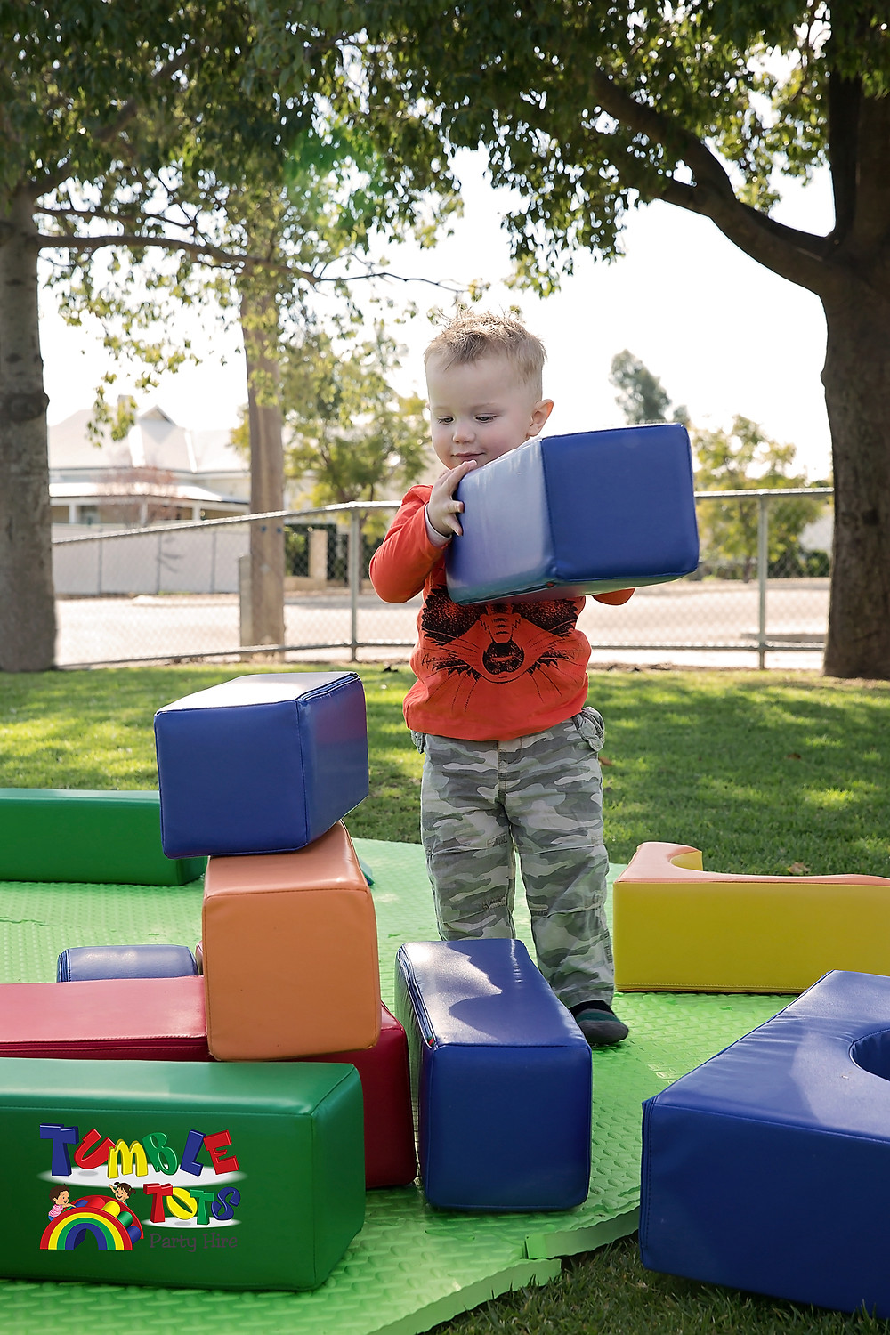 Construction Play with Tumble Tots Party Hire