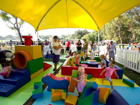 Toddler zones a hit at community events!