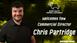 """Hugely Excited"" Chris Partridge Joins Ewe Rams Operational Board"
