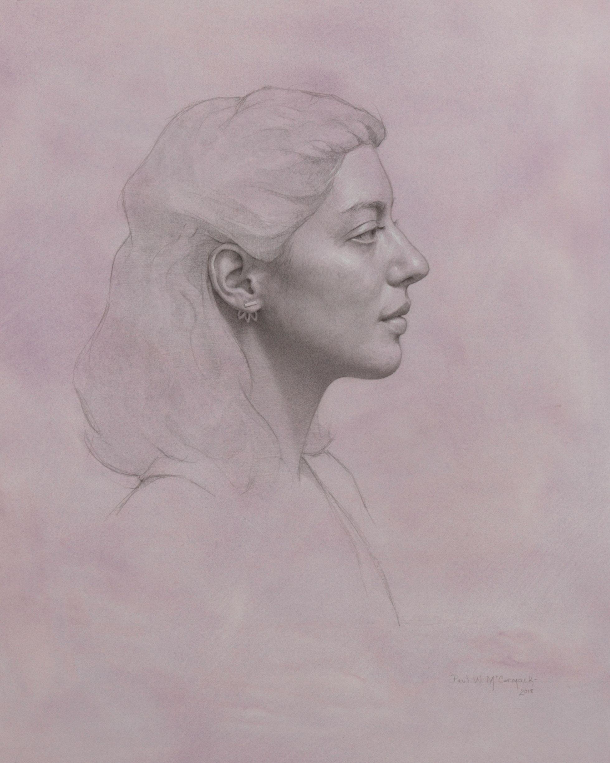 Lauren in Violet
