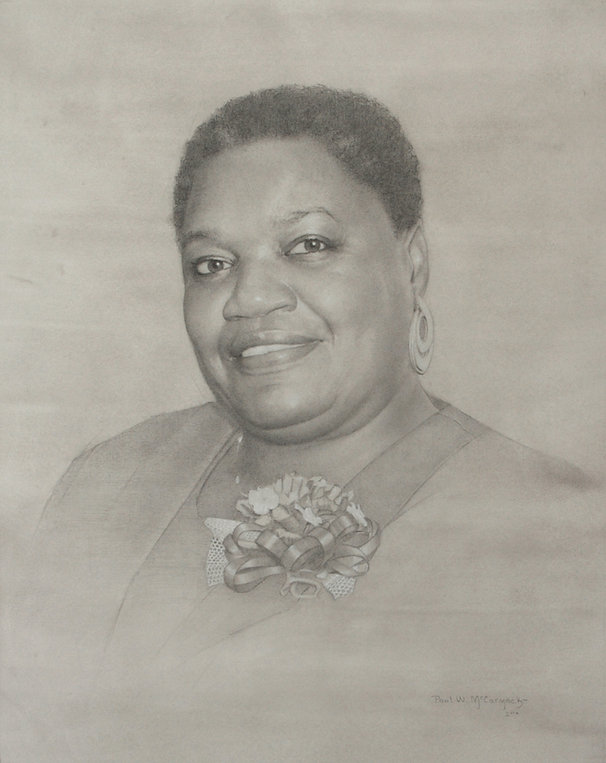 Ethel Lee Lance, by artist Paul McCormack. Tribute to the Emanuel Nine