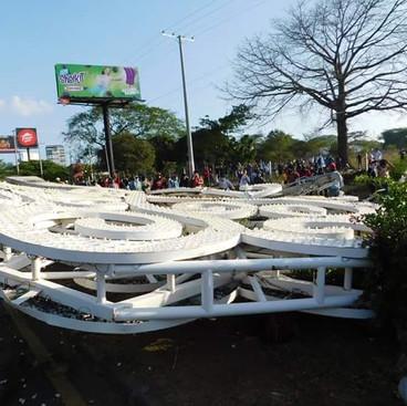 Una exposición fotográfica para recordar la esperanza de abril en Nicaragua