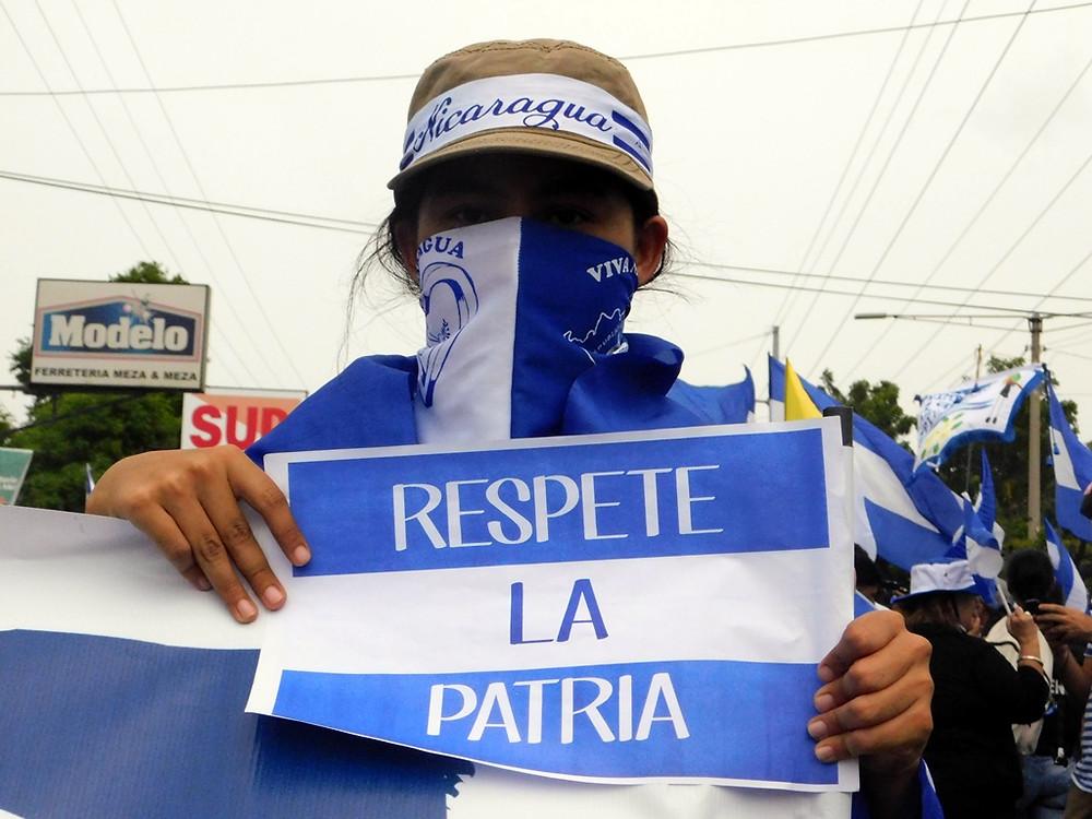 RESPETE LA PATRIA - Fotografía de Jairo Videa