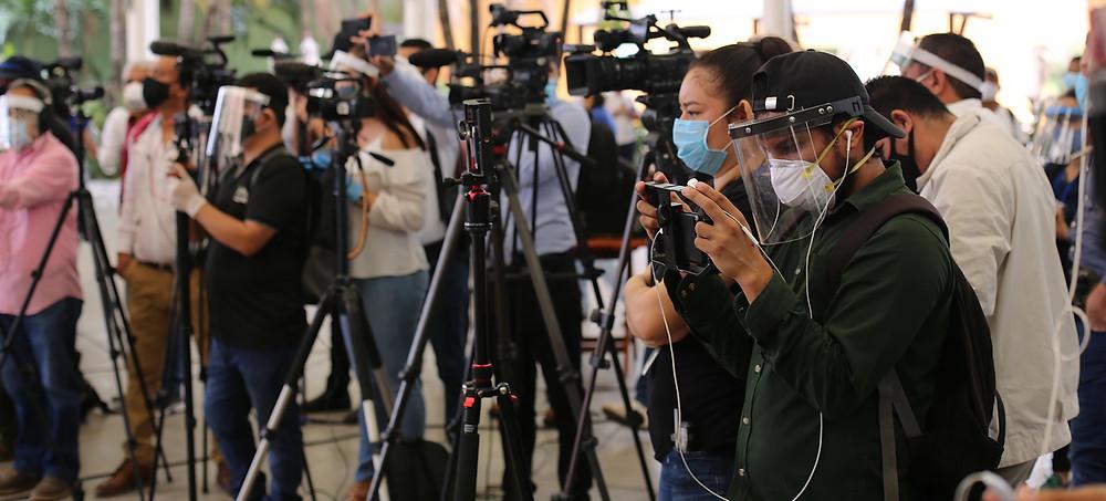 Sostenibilidad económica, represión estatal, la pandemia de Covid-19 y los comicios de noviembre. El año 2021 será uno de los más complicados para el periodismo independiente de Nicaragua | Fotografía de Voz de América por Houston Castillo