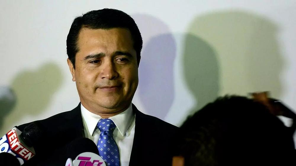 Juan Antonio Hernández, exdiputado en el Congreso Nacional de Honduras por el Partido Liberal y hermano del Presidente del país centroamericano, Juan Orlando Hernández   Fotografía de AFP