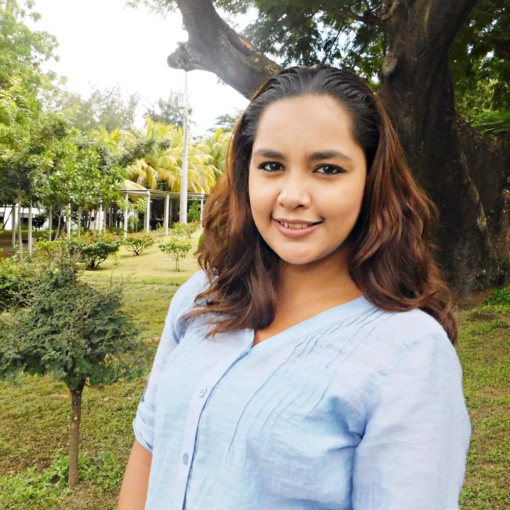 Nancy Zamora de Managua / 25 años
